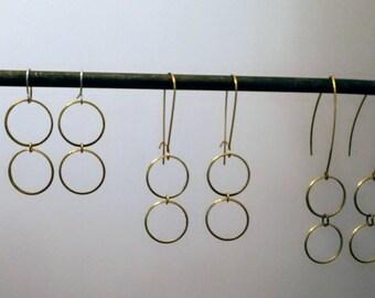 Raw Brass Loops
