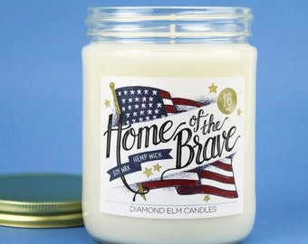 Home of the Brave Soy Candle