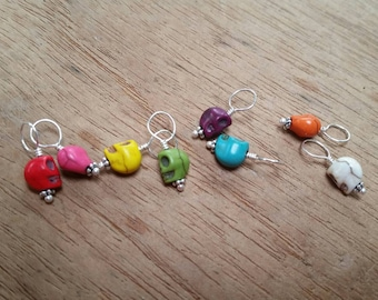 Skully Family for itty bitty knitting... great for Sock Stitch Markers.