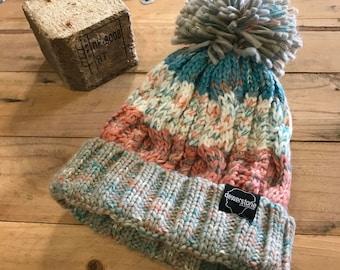 dewerstone Chunky Knit Pastel Beanie
