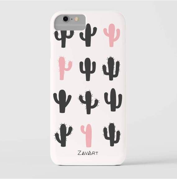 CACTUS phone case,  iPhone 8 cactus case, iPhone 7 case, iPhone 6 case, iPhone 6S case, iPhone SE case, Huawei P10 case, Huawei P9 Lite case