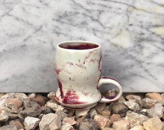 Porcelain Plum Mug