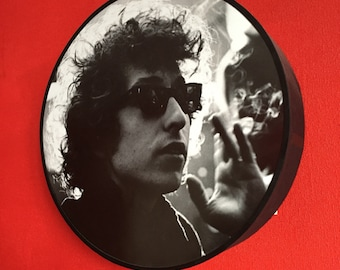 Posterlampe Bob Dylan