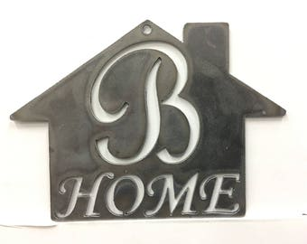 B - Home Plaque