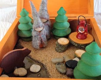 Woodland Gnome Creative Play Box