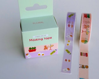 Masking tape set - 2 piece set!