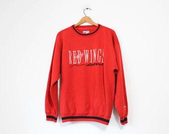 Vintage Detroit Michigan Red Wings Hockey Sweatshirt