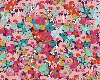 Flowered Medley Splendid - Splendid Fusion - Katarina Roccella - AGF - Art Gallery Fabric 100% Quilters Cotton FUS-SD-1102