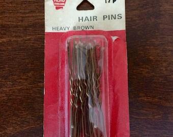 Vintage original hair grips by Aero England