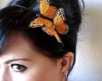 butterfly headband - butterfly headpiece - bridal hair piece - bohemian hair accessory - butterfly hair accessories - women's gift - MARISSA