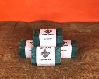 Gardenia Natural + Vegan + Organic + Boldly-Scented + Louisiana-Handmade Big Block Soap 11.5 FL OZ