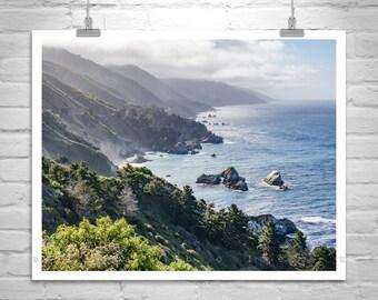 Big Sur Photo, Carmel by the Sea, Big Sur Photography, Pacific Coast Highway 1, Big Sur Art, California Coast, Big Sur Gift
