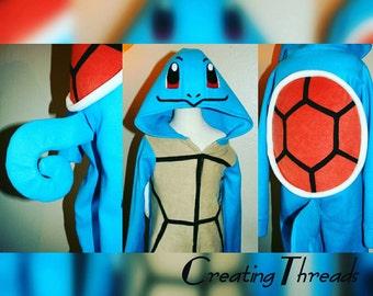 Squirtle Pokemon Costume