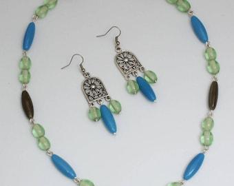 "Roman jewelry set ""Aquilina"""