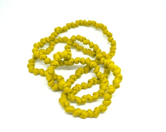 Jersey Necklace - Chartreuse