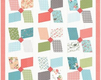 Easy Breezy LB 165G Quilt Pattern designed by Lella Boutique for Moda