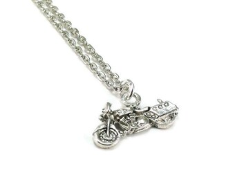 SALE Motorcycle Necklace