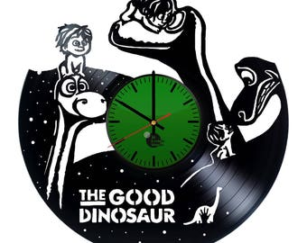 The Good Dinosaur Vinyl Record Wall Clock Home Decor