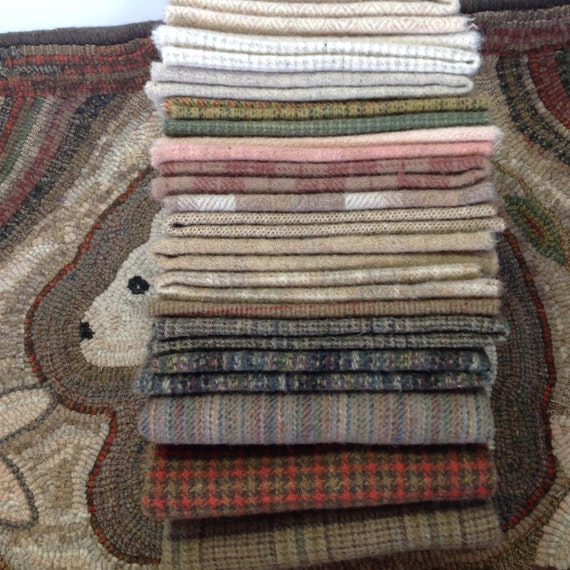 WOOL PACK for Primitive Rug Hooking and Applique, WP203