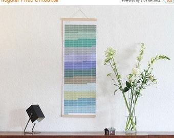 ON SALE Wall calendar 2018 Wallplanner 2018 Planner pastel aqua turquoise nature 2018 English-German printed on both sides