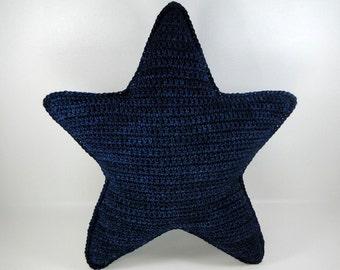 Crochet Pattern - Crochet Star Pillow Pattern #101 - Instant Download PDF