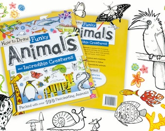 How to Draw - Funky Animals and Incredible Creatures