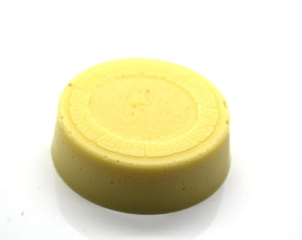 Lemon lotion bar