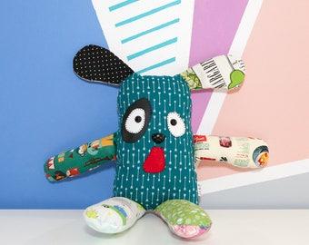 Cute stuffed animal, dog plushie
