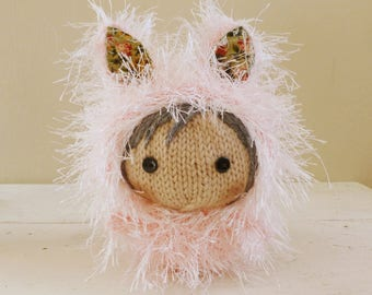 Cute Stuffed Animal, Baby Doll, Bunny Stuffed Animal - Bunny Baby Fae