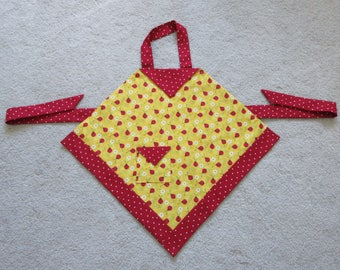 Child's Apron, kids apron, girls apron