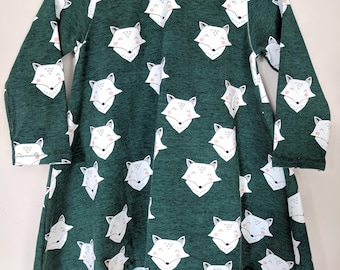 Organic fox dress