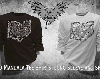 Ohio Mandala tee shirt