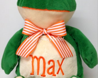 """Personalized 16"""" Frog Plush Soft Toy"""