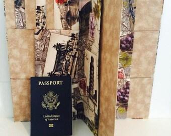 Family Passport Holder, Passport Cover, Family Passport Wallet, Passport Holder , Passport Case, Passport Wallet, Boarding pass wallet