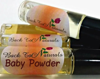 Baby Powder Fragrance Oil  - Baby Powder Perfume Oil  in a Roll on bottle - Perfume for Her
