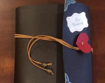 Leather-bound Special Moments Scrapbook