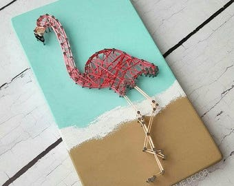 Flamingo String Art