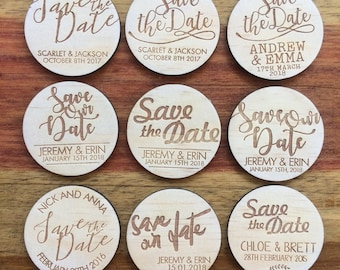 Custom order save the dates for Clare