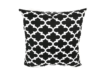 Black and White Pillow Water Resistant