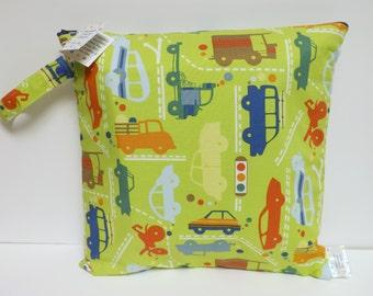 Medium Wet Bag - Wet Bag - 14 X 14 - Beep Beep