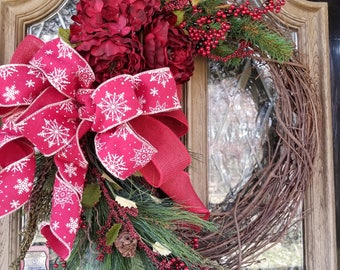 Holiday/Winter Wreath