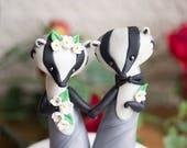 American Badger Wedding Cake Topper by Bonjour Poupette