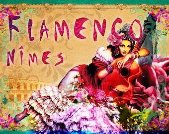 Flamenco tasting poster
