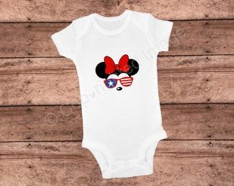 Onesie - Minnie Mouse - USA