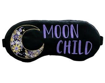 Moon Child Gypsy Sleep Mask