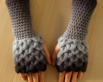EXPRESS SHIPPING! dragon gloves, crocodile gloves, winter gloves, christmas gift, gift for her, gift for christmas, women gift / Formalhouse