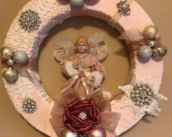 Shabby Chic Christmas Angel