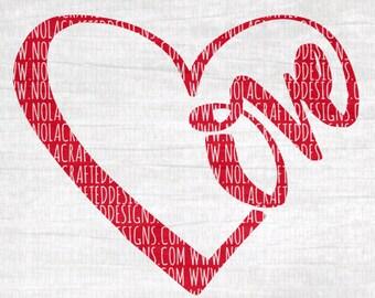 Love Heart Svg Cut File - Valentines Svg Cut File - New Born Baby Svg Cut File - Pregnancy Valentines Svg Cut File