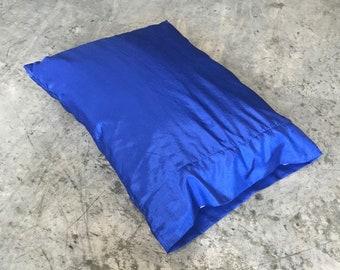 Blue Satin Pillowcase