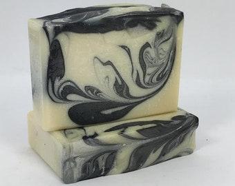 Black Tie - Mens Soap - Goat Milk Soap - Zen Like Fragrance - Coldprocess Soap - Handmade Soap - Shea Butter